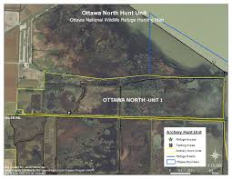 Hunt Maps Refuge Map Ottawa U S Fish And Wildlife Service