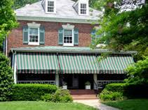 Back Porch Awning Preservation Brief 44 The Use Of Awnings On Historic Buildings