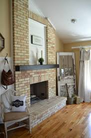 Clean Fireplace Stone by Living Room Brick Wall For Fireplace Decoration Living Room