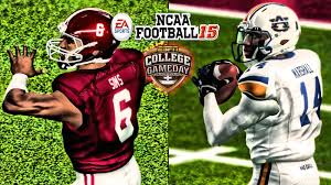 thanksgiving college football ncaa football 15 xb360 60fps 15 auburn at alabama