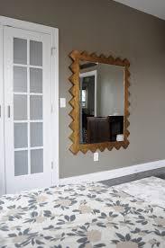 mirror go haus go a diy and design blog by emily may zig zag dream mirror in master bedroom