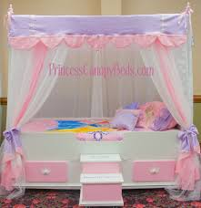 Girls Canopy Bedroom Sets Toddler Canopy Bed Interiors Design