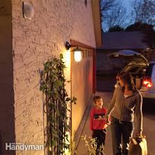 add motion sensor to existing light installing a remote motion detector for lighting the family handyman
