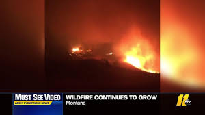 Wildfire Parks Canada by Wind Whipped Wildfires Bear Down On Glacier Yosemite Parks