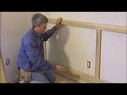 Build Your Own Wainscoting Trim Carpentry Wainscoting Youtube