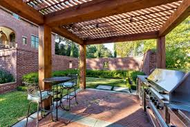 covered outdoor living spaces pvblik com idee brick patio