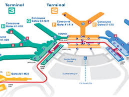 San Diego Airport Terminal Map by Where To Eat At O U0027hare International Airport Ord Eater Chicago