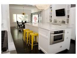 narrow dining room kitchen design kitchen red stools pendant light