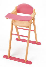 Baby Doll High Chair Set Pintoy Dolls High Chair