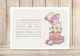 bridal tea party invitation 27 images of formal invitation template for baby to tea infovia net
