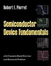 semiconductor device fundamentals 2nd edition by robert f pierret