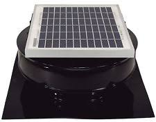 20w 12v attic fan round solar panel solarland frameless ebay
