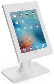 77 best ipad holders tablet displays images on pinterest ipad ipad pro counter stand rotating locking enclosure w exposed home button white