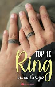 tattoo infinity ring top 10 ring tattoo designs