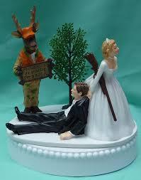 camo wedding cake toppers wedding cake topper humorous deer camo rifle