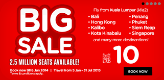 airasia singapore promo air asia big sale promotion flights from usd 4 one way