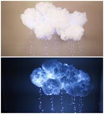 how to make a cloud light how to make a diy cloud light iseeidoimake