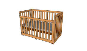 Crib Mattress Support Frame How To Build A Crib Howtospecialist How To Build Step By Step