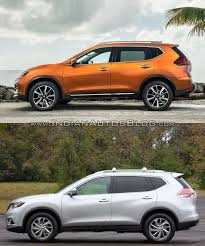 black nissan rogue 2014 2017 nissan rogue vs 2014 nissan rogue in images