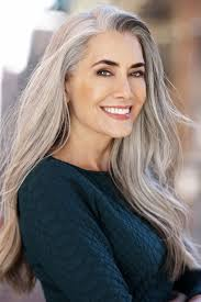 grey hair in 40 s beautiful hair trends and the hair color ideas grey hair woman