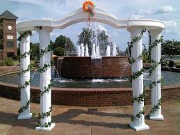 wedding arches and columns wedding equipment upstate event services