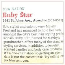 ruby star hair salons 3641 st johns ave avondale