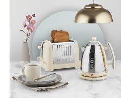 Next Kettle And Toaster Cream Gloss Dualit 2 Slice Lite Toaster