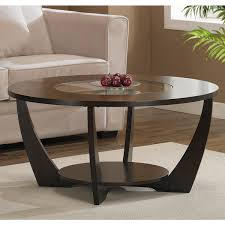 espresso wood coffee table archer espresso coffee table with shelf overstock shopping great
