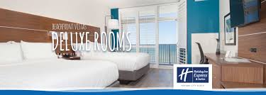 deluxe rooms in panama city beach holiday inn express suites deluxe beachfront rooms at the holiday inn express