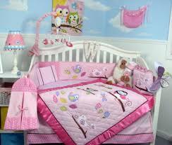Crib Bedding Owls Soho Owls Meadowland Baby Crib Nursery Bedding Set 13 Pcs Included