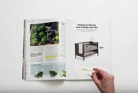 ikea magazine ikea magazine ads come with a pregnancy test business insider