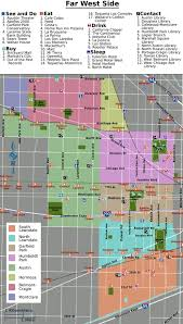 chicago map side chicago far west side wikitravel