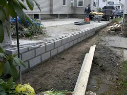 concrete block retaining wall design remodeling 8 interlocking