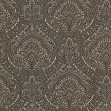 fine decor paisley damask taupe wallpaper fd21221