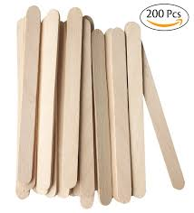 amazon com acerich 200 pcs craft sticks ice cream sticks wooden