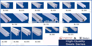 clear plastic shower door seal for 90 degree buy plastic seal