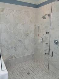 Marble Bathroom Tile Ideas Carrara Marble Bathroom Shower Tile Ideas Bathroom Master Bath