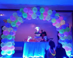 glow in the balloons neon balloons craftbnb