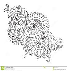 t shirt coloring page hand drawn artistic ethnic ornamental patterned floral frame in
