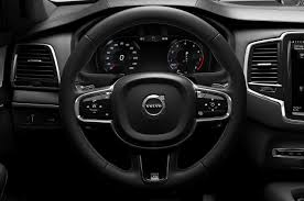 volvo steering wheel new volvo xc90 r design first few pictures released autobuzz my