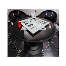 small round game table buy luxury gaming tables multi game tables at treniq