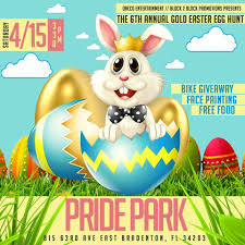 oneco 6th annual gold easter egg hunt at pride park macaroni kid