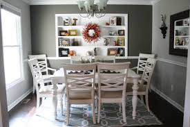 Budget Fall Dining Room Makeover For Under - Dining room makeover pictures