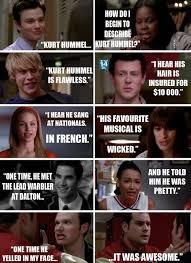 Glee Memes - kurt hummel my fav character from glee and blaine fandoms