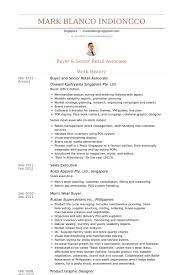 Resume Example Singapore by Retail Associate Resume Samples Visualcv Resume Samples Database