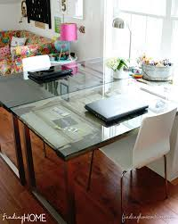 Diy Door Desk Diy Desks From Vintage Doors Vintage Doors Desks And Doors