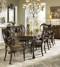 Elite Dining Room Furniture by Nine Piece Formal Dining Set With Two Arm Chairs And Six Side