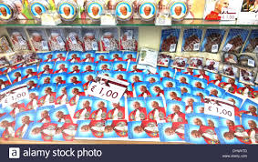 pope souvenirs pope paul ii souvenirs on sale in the run up to canonization