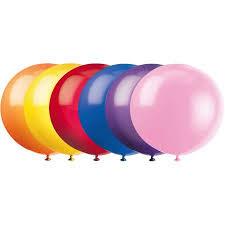 oversize balloons balloons 36 in assorted 6ct walmart