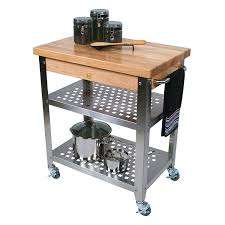 amazon com john boos co cucina rosato kitchen cart cucr3020